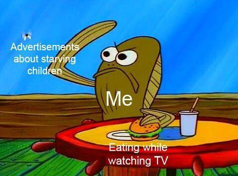 find your own food kids - meme