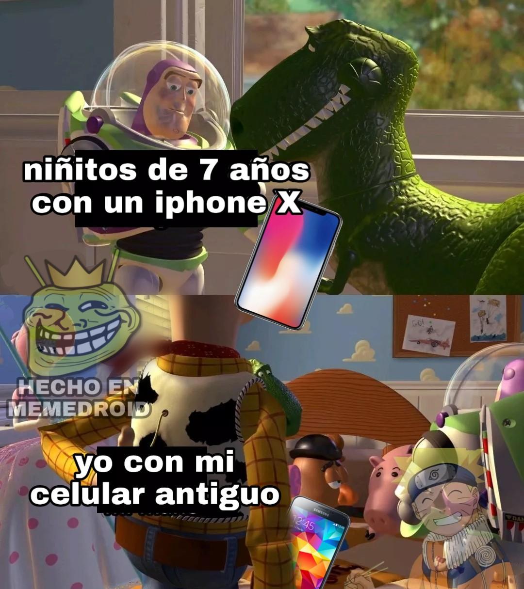 uffff yo tengo un primo que siempre presume su iphone y su mac - meme