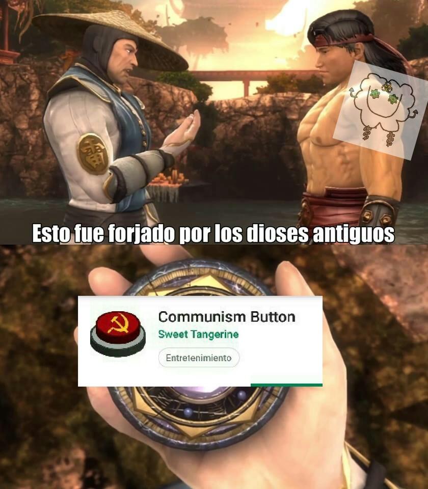 Comunism button °o° - meme
