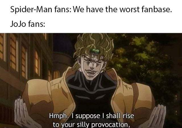 jojo fan approved - meme