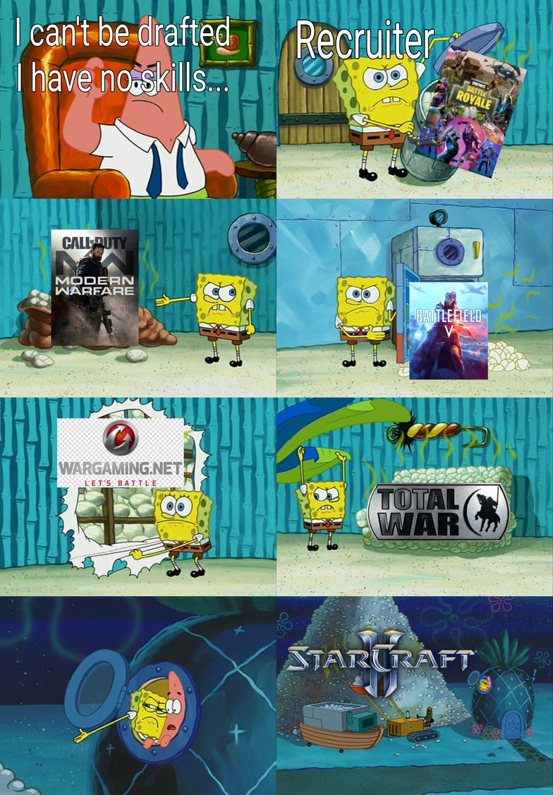 18 year olds when WW3 begins... - meme