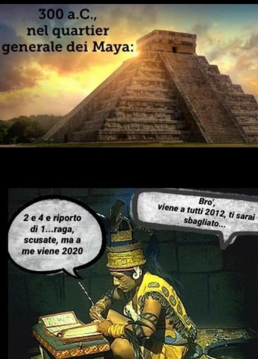 Previsione Maya - meme