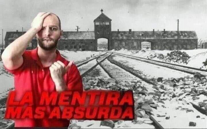 Recuerden, el holocuento no sucedio, es mentira judia para victimizarse - meme