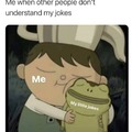What's important is it's an excuse to laugh