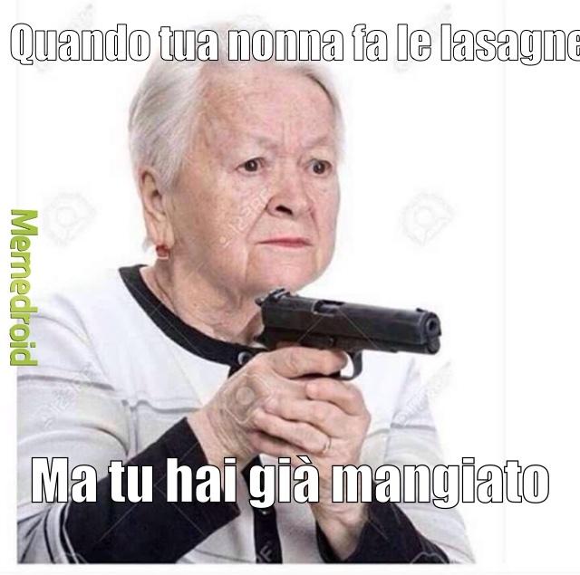 Ah le nonne - meme