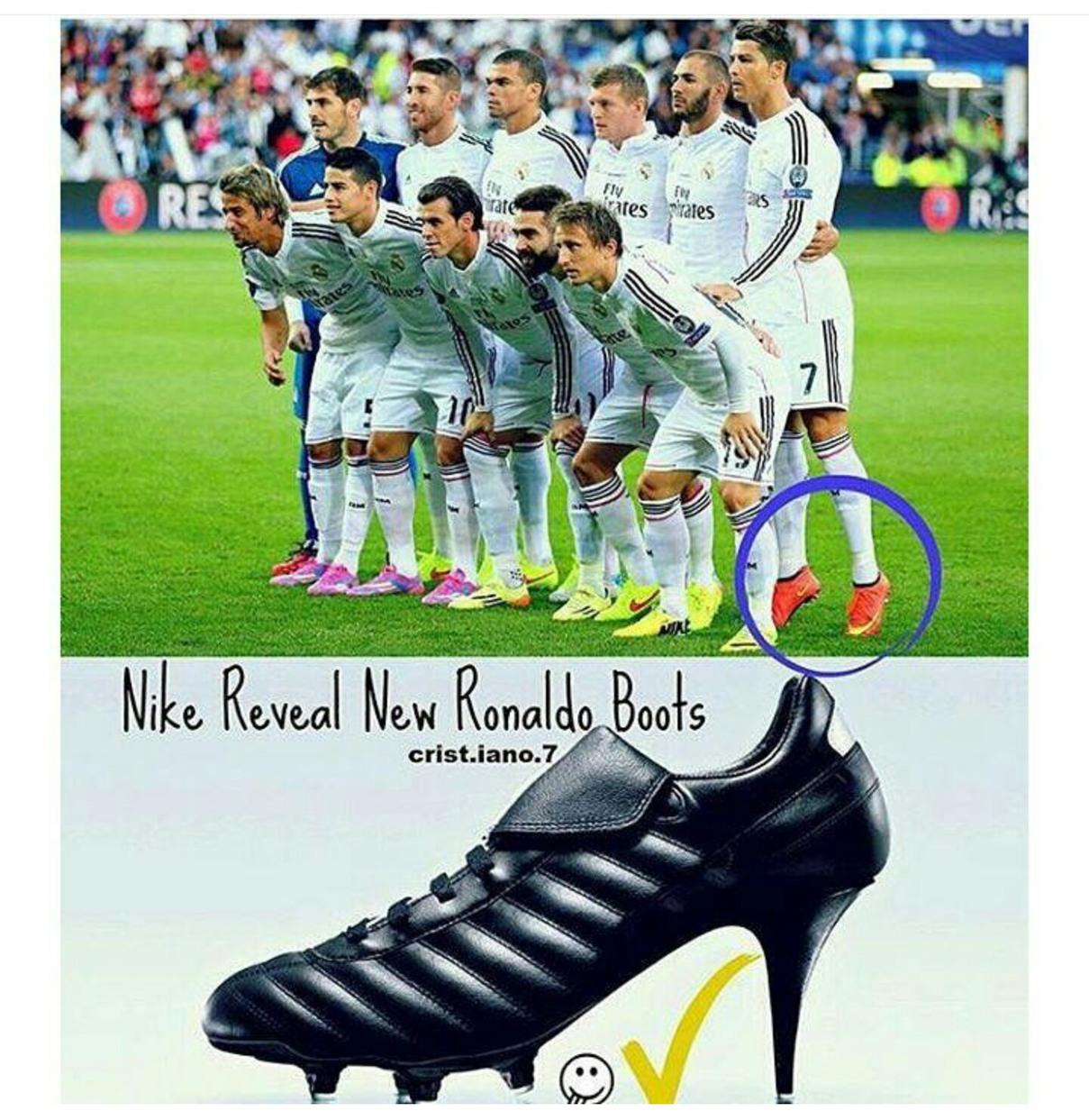 Nova edição da Nike - meme