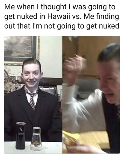 Hawaiian Missile Crisis - meme