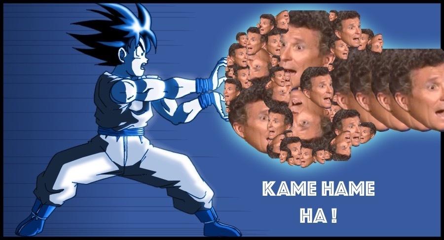 KAME HAME HA ! - meme