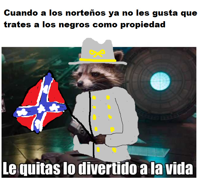 Guerra de secesión - meme