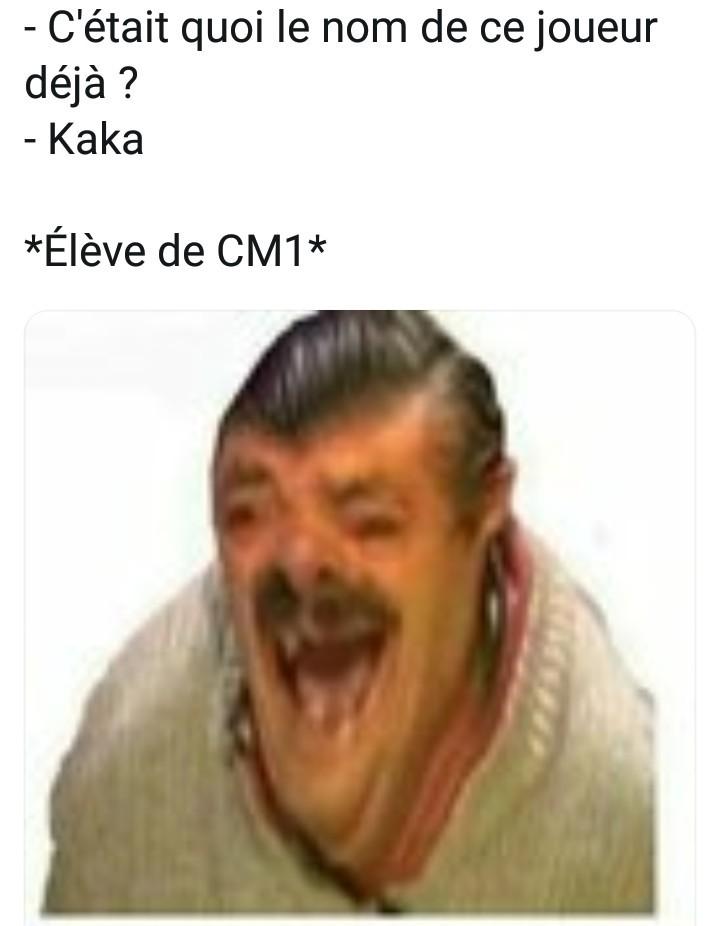 Le titre est parti faire Kaka - meme