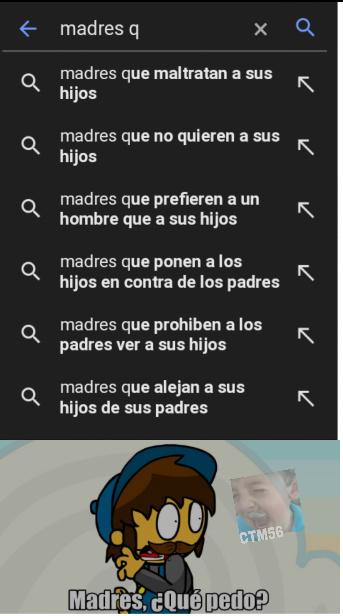 Que busca la gente en google?! - meme