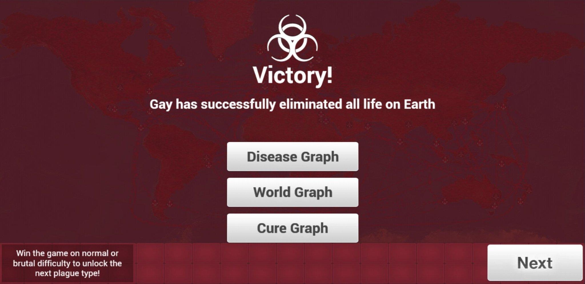 The gaye has been eradicated - meme