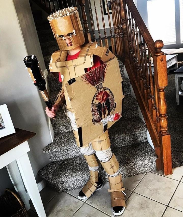 Cardboard man - meme