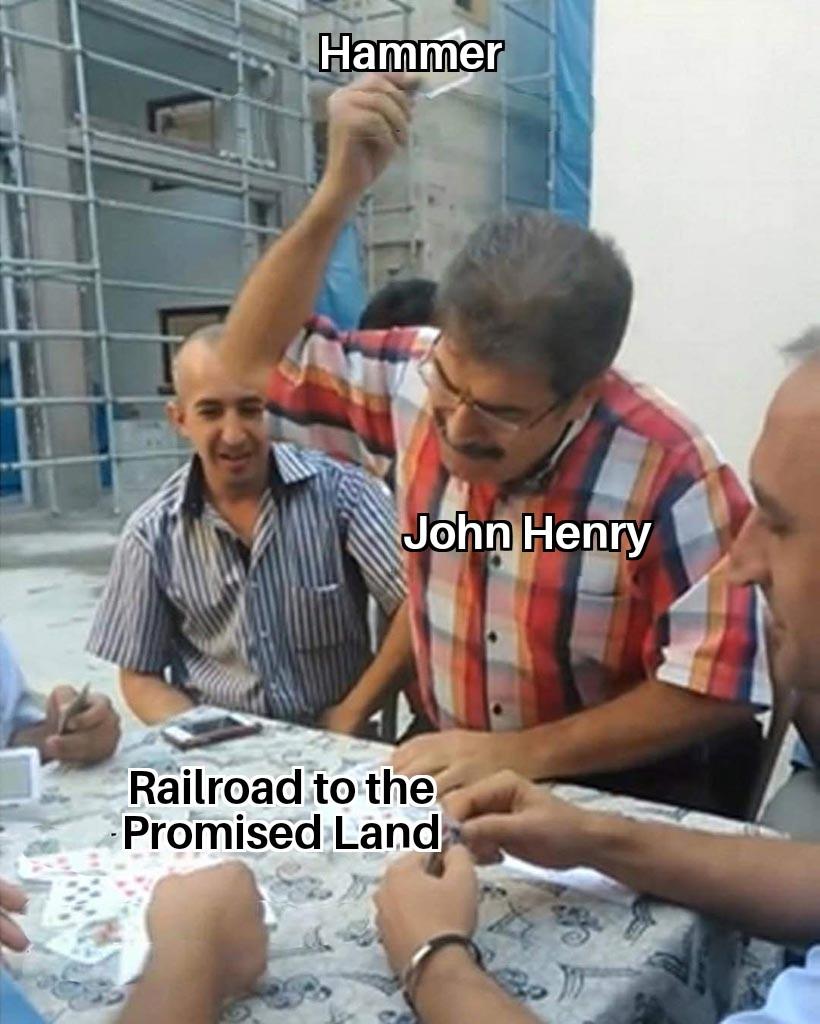 John Henry - meme