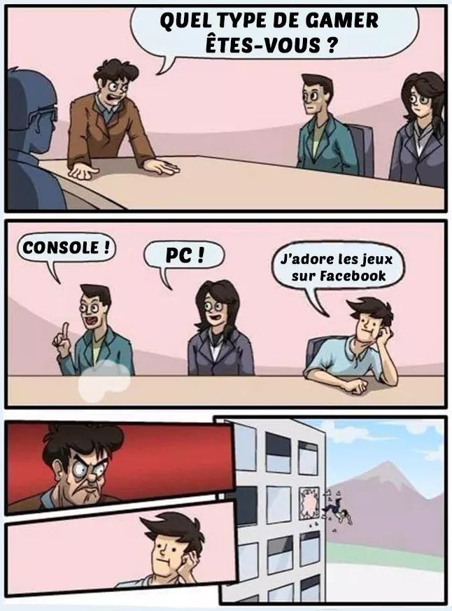 Il y a des jeux mobiles cool aussi - meme