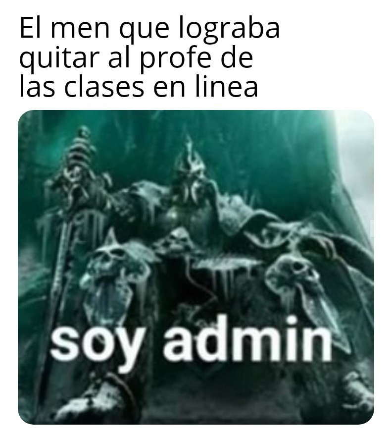 Admin - meme