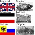 The good Russian tanks