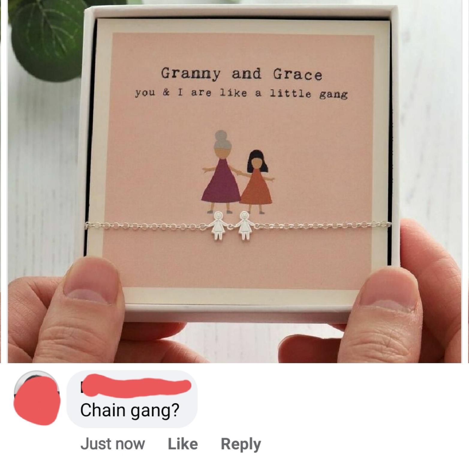 Chain gang? - meme