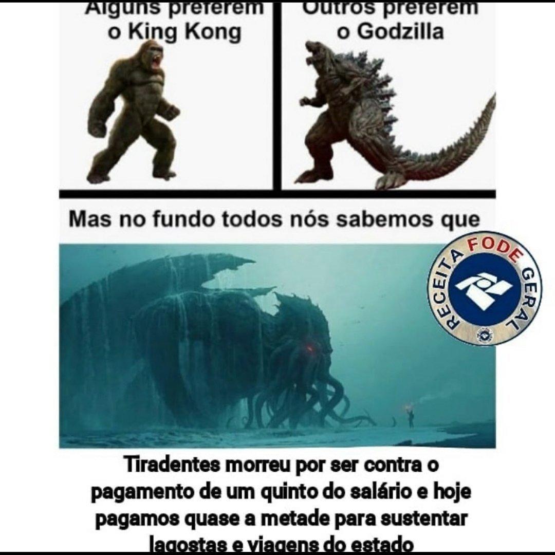 Ok, acho que já basta de memes a respeito de Godzilla vs Kong