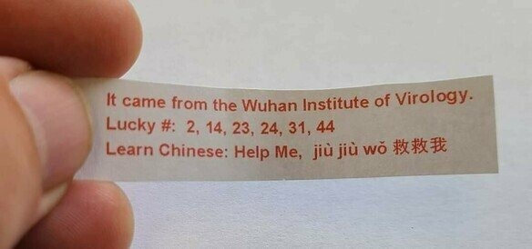 Found this in my fortune cookie - meme