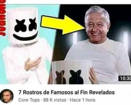 El presidente de los mejicanos - meme