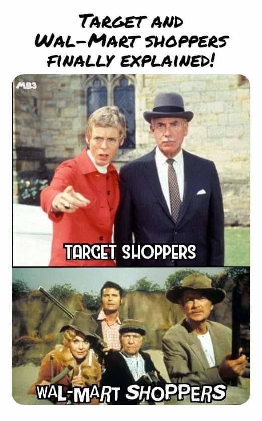Shoppers - meme