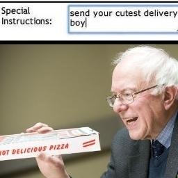 Bernie bern bern - meme