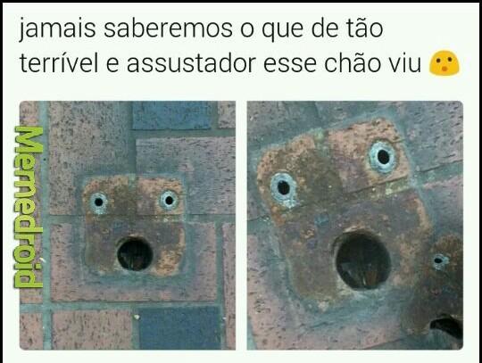 Scared face - meme