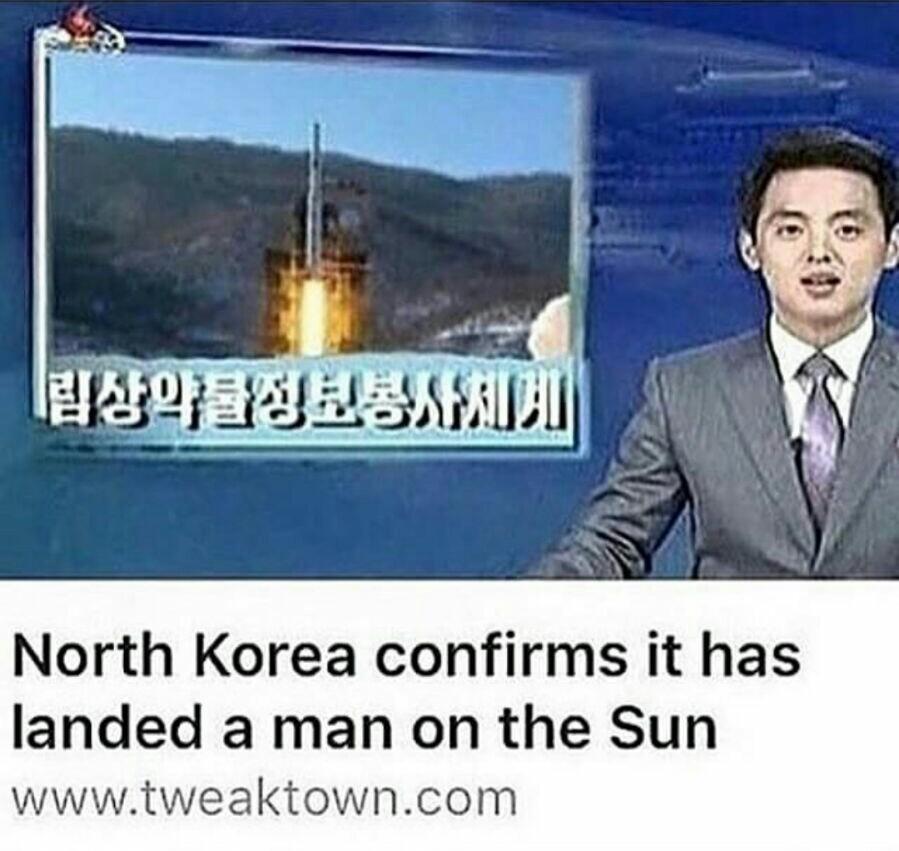 Nord korea top - meme