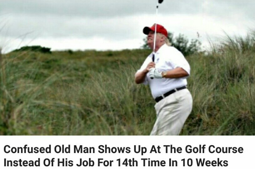 Old man trump - meme