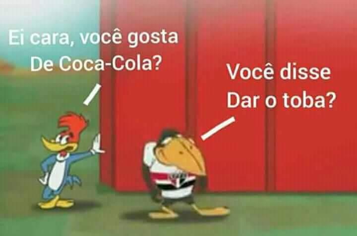 SÃO PAULINO TUDO BAITOLA - meme
