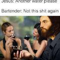Jesus' trick