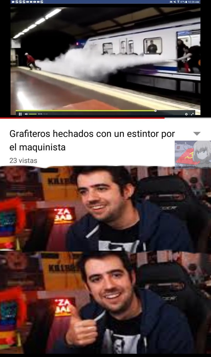 Extintor* ;3 - meme