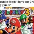 The new mario party is shit tho