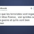 Miss France always country terroriste