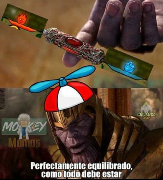 El titulo esta equilibrado - meme