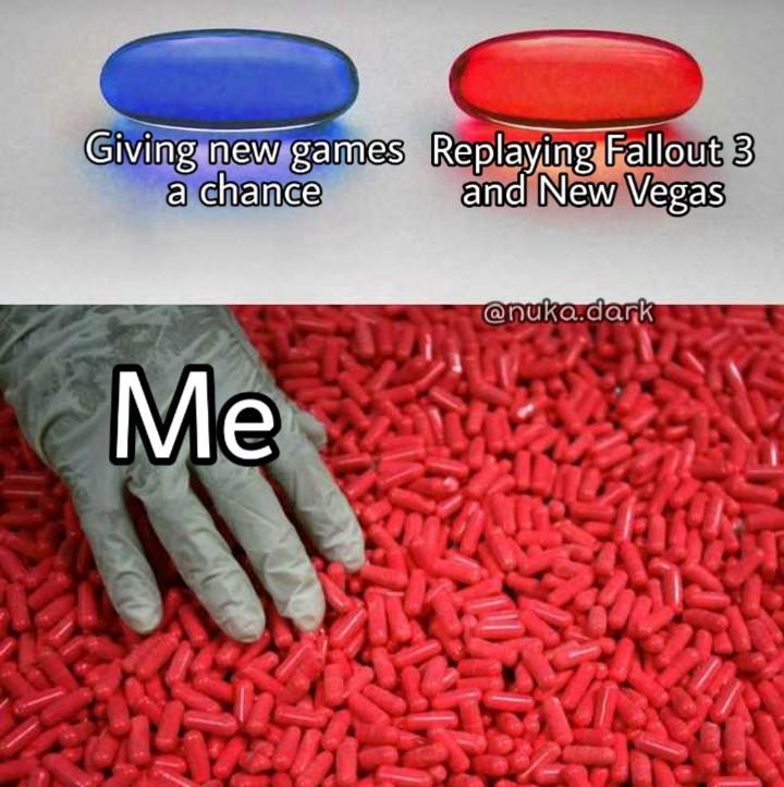 (Oc) Fallout - meme