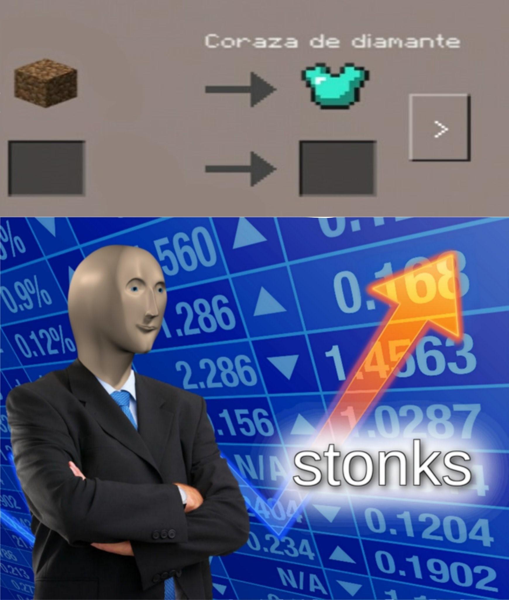 otro meme de minecraft mas xd