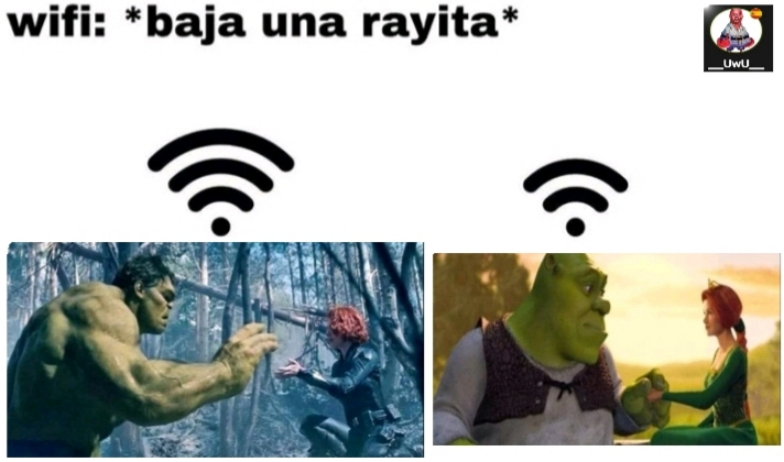 el wifi - meme