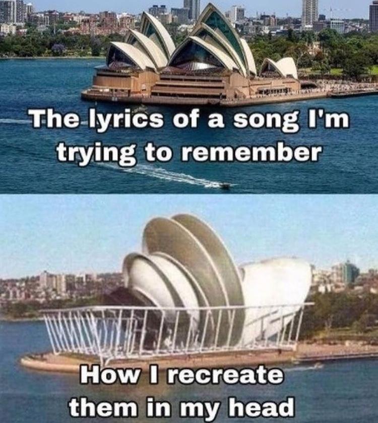 Sydney opera house - meme