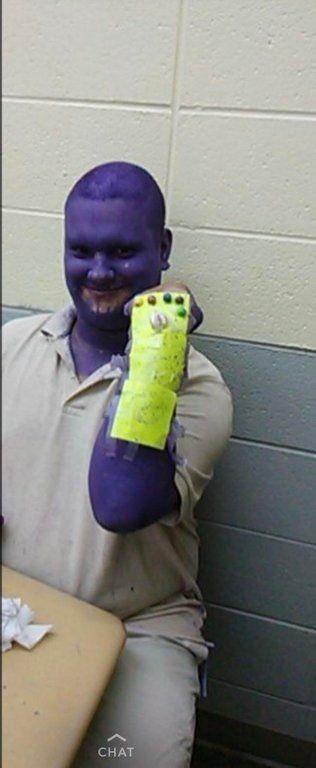 Thanos hay que miedo D: - meme