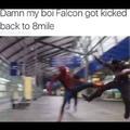 RIP Falcon, you were a solid lad.