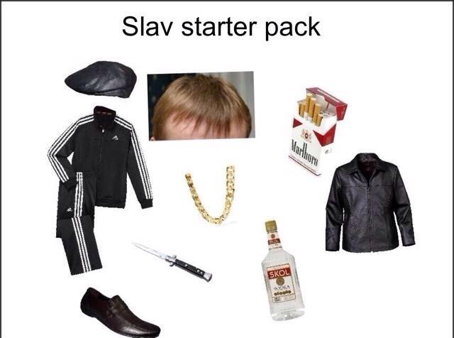 just the essentials. - meme