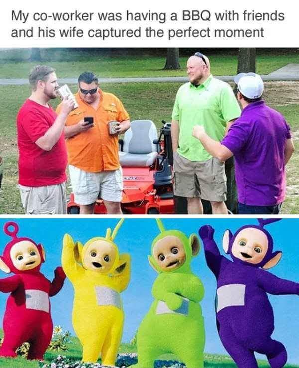 Teletubbies - meme