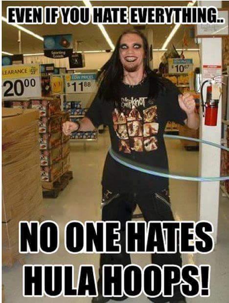 Hula hoops are the bomb - meme