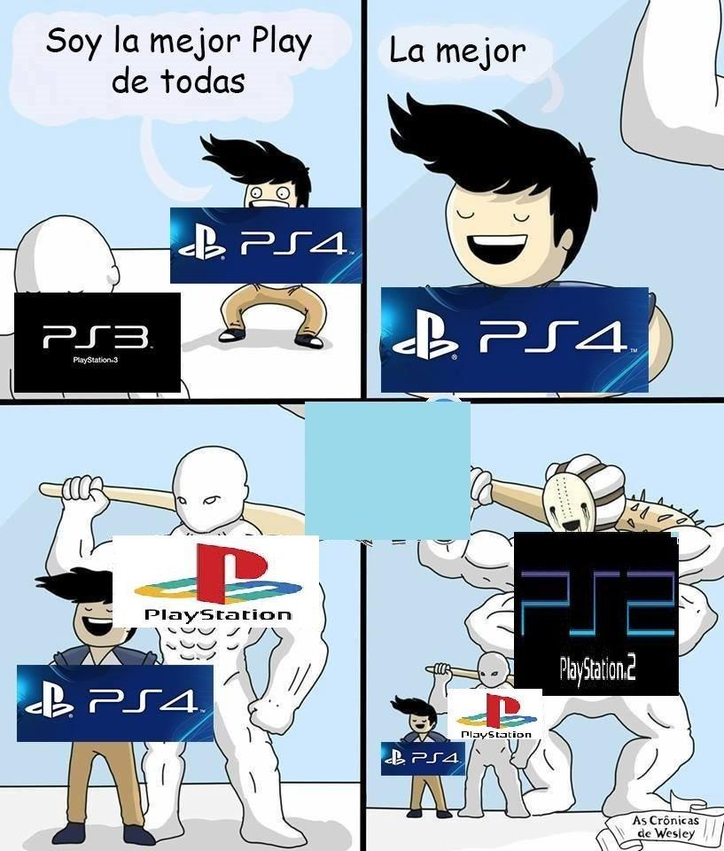La PS2, la mejor de toda la P#T# historia. - meme