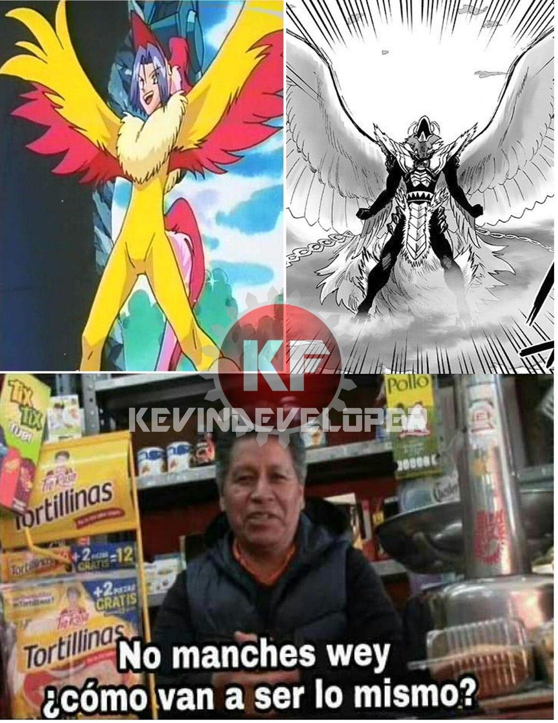 Phoenix man y James, ¡¡¡EL GUAJOLOTE MACÍAS!!! - meme