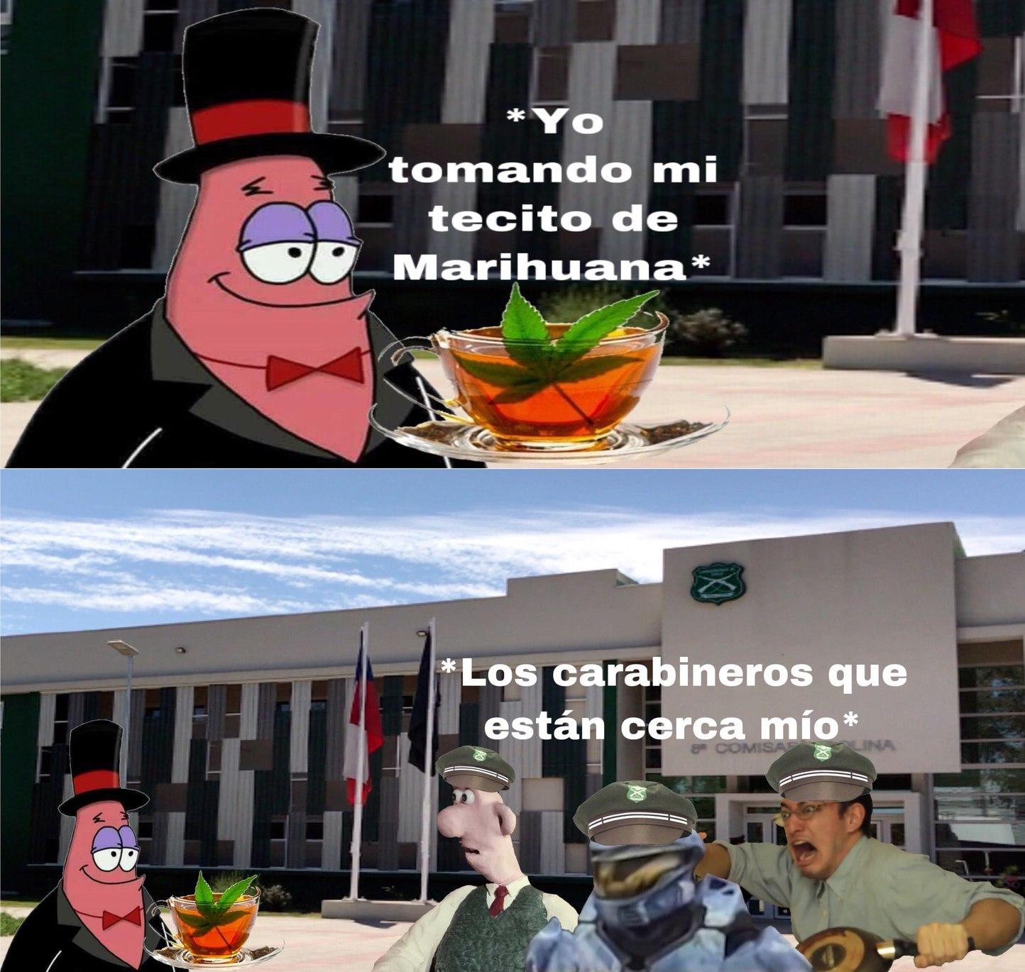Traductor Chileno: Carabinero = Pako. - meme