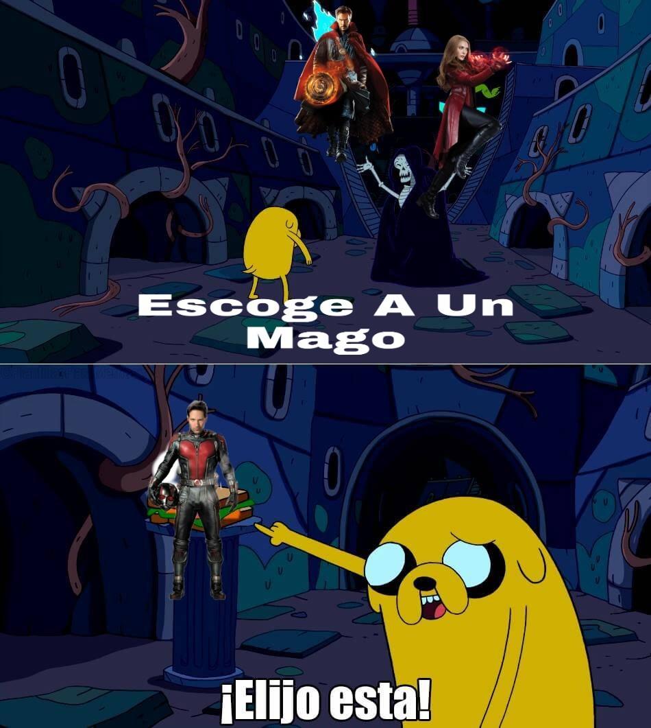 Magia prro - meme