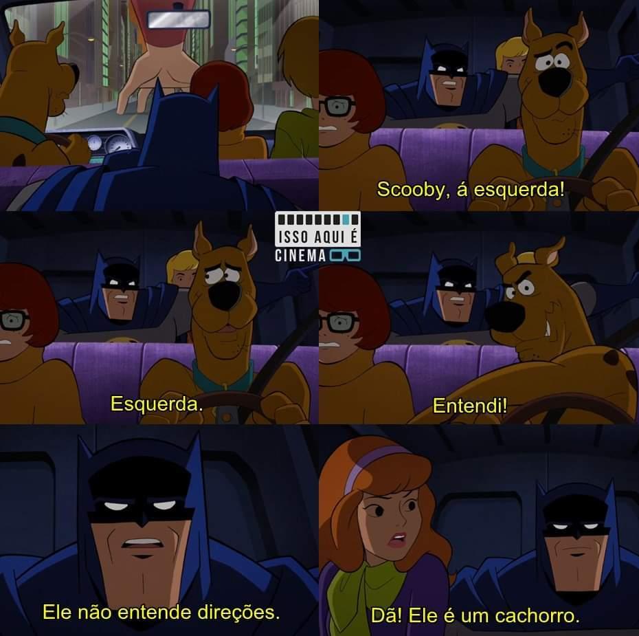 Scooby-Doo & batman : os bravos e destemidos (2018) - meme